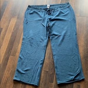 Old Navy teal sweat pants size XL